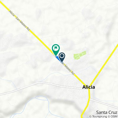 Alicia - San Mateo Road to Alicia - San Mateo Road
