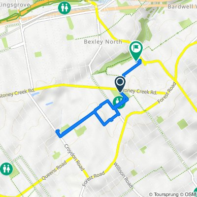 Valley To Bay Trail, Bexley to 7-9 Orpington Street, Bexley