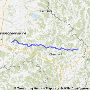 Day 2 - Troyes to Bourg-Sainte-Marie