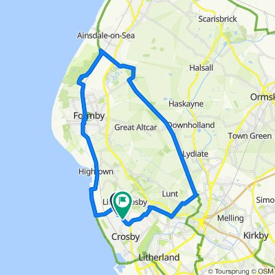 Crosby to Formby and back