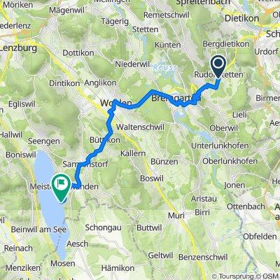 Höllbündtenstrasse 15, Rudolfstetten nach Seerosenstrasse 3, Meisterschwanden