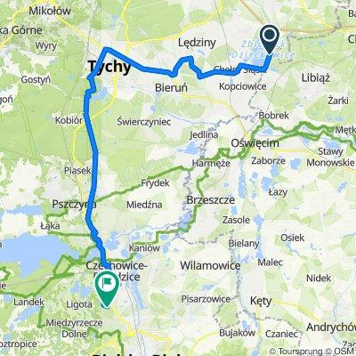 Unnamed Road, Imielin do Do Gajówki 18, Czechowice-Dziedzice
