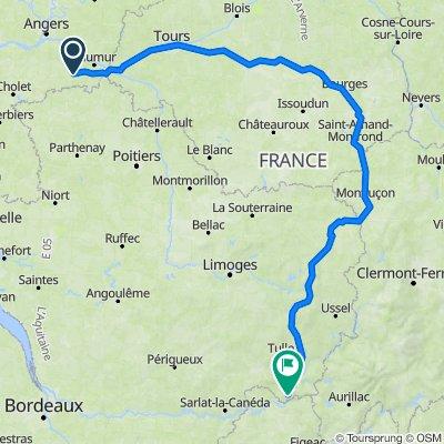 Doué-la Fontaine_Baulieu-sur-Dordogne