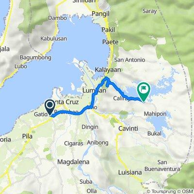 Route to Cavinti-Caliraya Road, Lumban