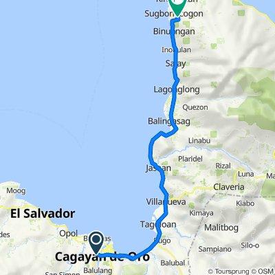 J. Seriña Street 73, Cagayan de Oro to Alicomohan