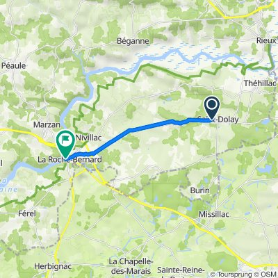 De Saint-Dolay La Roche-Bernard