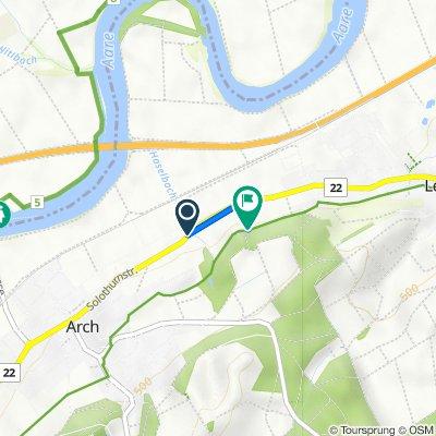 Route von Solothurnstrasse 38–48, Arch