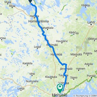 Monaalantie 1–21, Haukila to Koskelantie 23, Helsinki