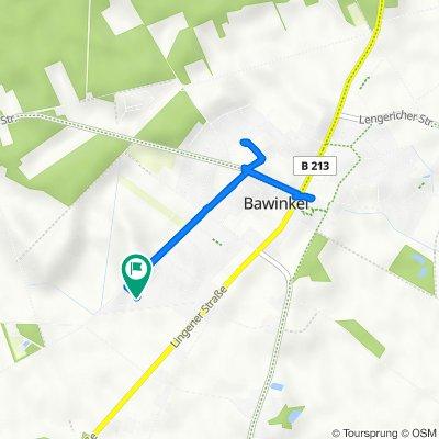 Birkenweg 4, Bawinkel nach Birkenweg 5, Bawinkel