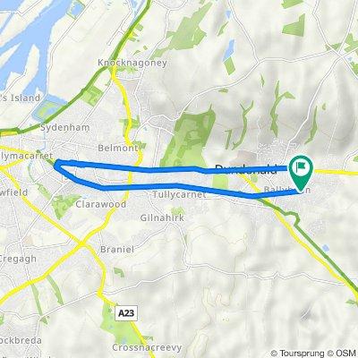 Craigleith Drive 27, Dundonald to Craigleith Drive 23, Dundonald
