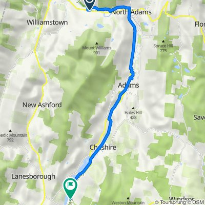 895 State Rd, North Adams to 965 Cheshire Rd, Lanesborough