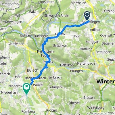 Niederfeldstrasse 3A, Andelfingen nach Grubenweg 10, Oberglatt ZH