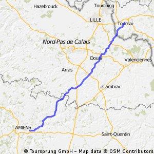 Tour de Koyo Etappe5 Tournai - Amiens