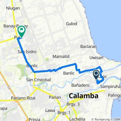 Looc Calamba - Pulo Cabuyao