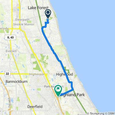 24–32 Campus Cir, Lake Forest to 1324 Fredrickson Pl, Highland Park