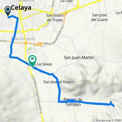 De Paseo de la Hacienda 303, Celaya a Zaragoza de La Cruz 35a