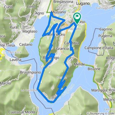 Mountain Challenge around Lugano