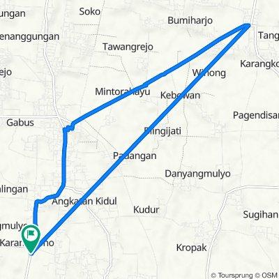 Jalan Kedalingan - Karaban 1, Tambakromo to Jalan Kedalingan - Karaban 1, Tambakromo