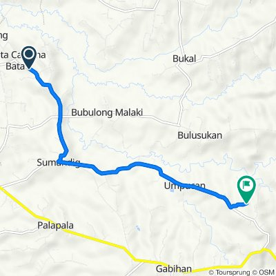 Unnamed Road, San Ildefonso to Unnamed Road, San Ildefonso