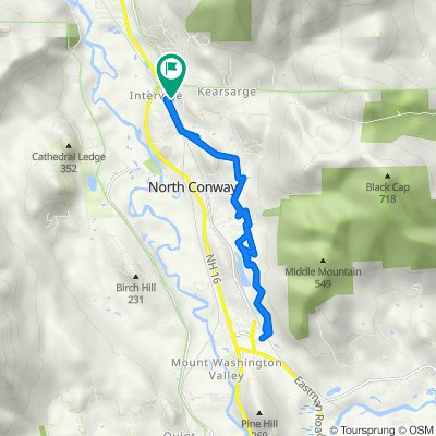 Mountain Bike Work Commute