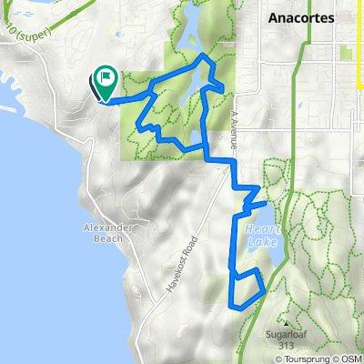 Clyde Way 4301, Anacortes to Clyde Way 4122, Anacortes