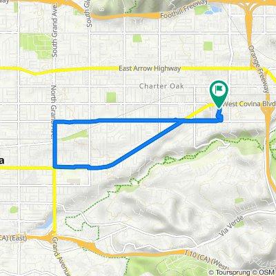 West Covina Boulevard 1130, San Dimas to West Covina Boulevard 1130, San Dimas