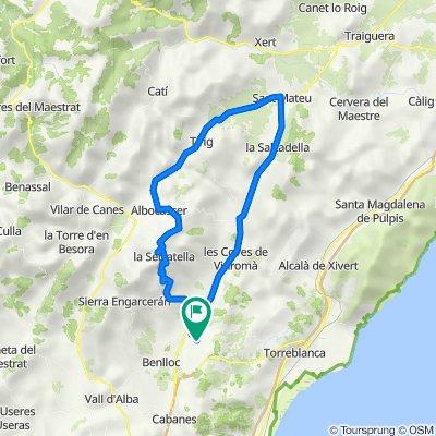 De Carrer Sant Antoni 16, Vilanova d'Alcolea a Carrer Sant Antoni 16, Vilanova d'Alcolea