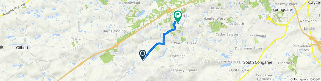1500 Nazareth Rd, Lexington to 521 Colony Lakes Dr, Lexington