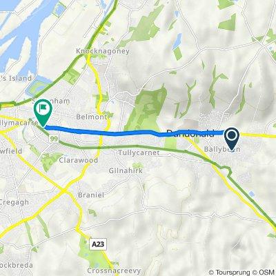 Craigleith Drive 21, Dundonald to Upper Newtownards Road 87