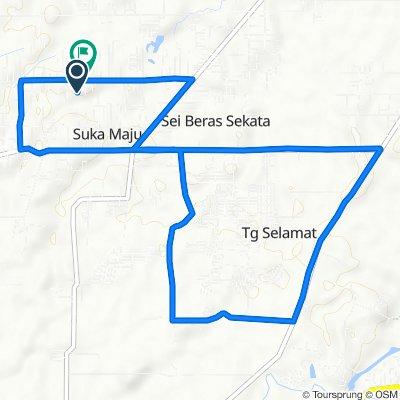 Jalan Jati 11, Kecamatan Sunggal to Jalan Jati 11, Kecamatan Sunggal