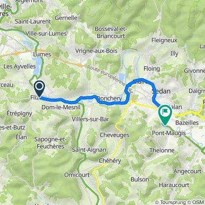 113–122 L'Îlot, Flize to D6, Noyers-Pont-Maugis
