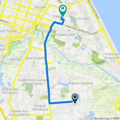 De Rua Firmo Ananias Cardoso, 303–469, Fortaleza a Rua Ary Barroso, Fortaleza