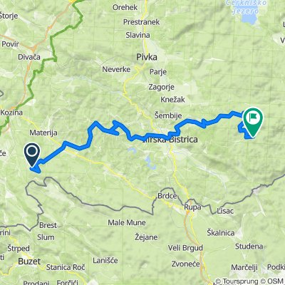 STKP 18: Tumova koča na Slavniku – Planinski dom na Sviščakih