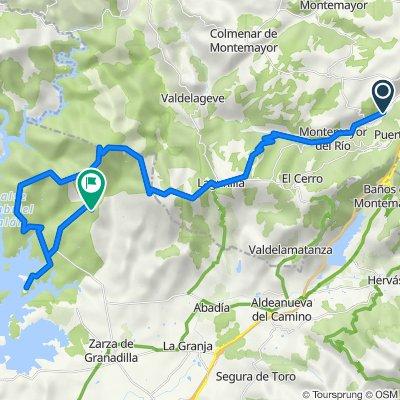 Béjar - Montemayor - Granadilla - Baños - Béjar