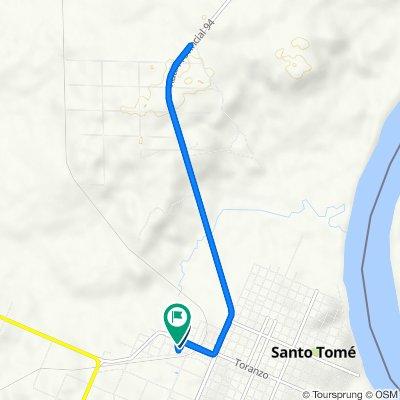 De Sargento Cabral 260, Santo Tome a Ruta Provincial 94 470, Corrientes
