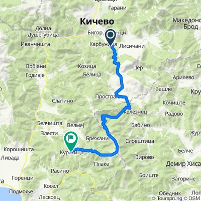 Kicevo - Ilinska - Kuratica