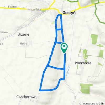 Wrocławska 186, Gostyń do Wrocławska 187, Gostyń