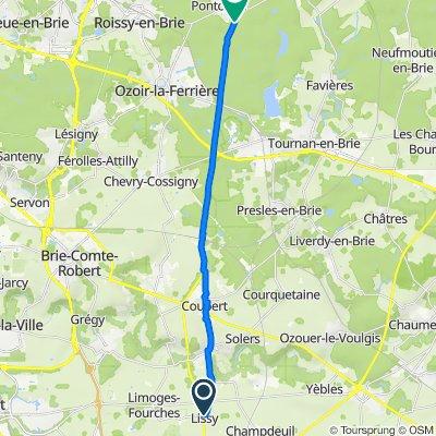 De 34 Grande Rue, Lissy à Déviation de la Route Départementale, Pontcarré