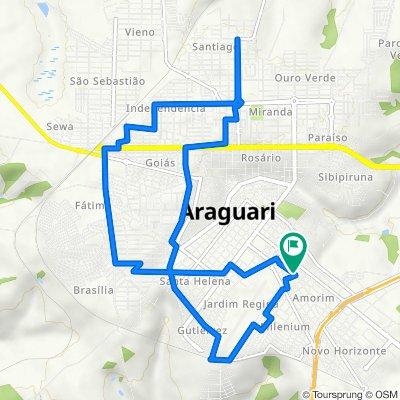 De Rua Abrão Calil, 260, Araguari a Rua Abrão Calil, 270, Araguari