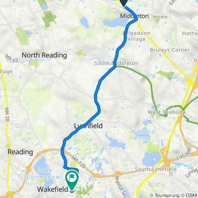 8 Forest St, Middleton to 68 Preston St, Wakefield
