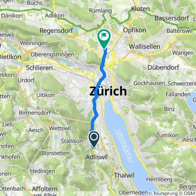 Im Sihlhof 2, Adliswil to Eduard-Imhof-Strasse 2–2C, Zürich
