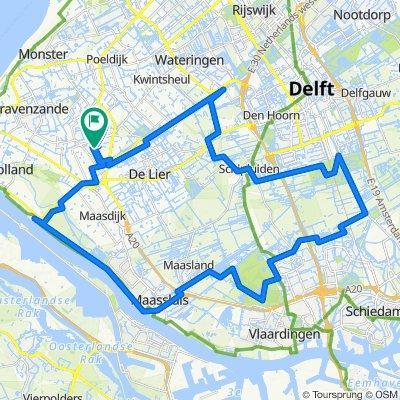 Strigastraat 62, Naaldwijk naar Atriumhof 5, Naaldwijk