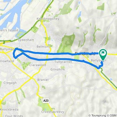 Craigleith Drive 23, Dundonald to Craigleith Drive 25, Dundonald