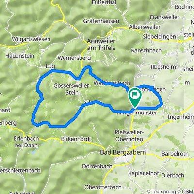 Alte Straße 25, Klingenmünster nach Alte Straße 31, Klingenmünster