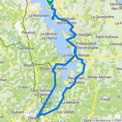 Saint-Malo nach Dinan