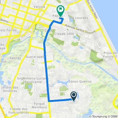 De Rua Firmo Ananias Cardoso, 303–469, Fortaleza a Rua Almeida Prado, 234, Fortaleza