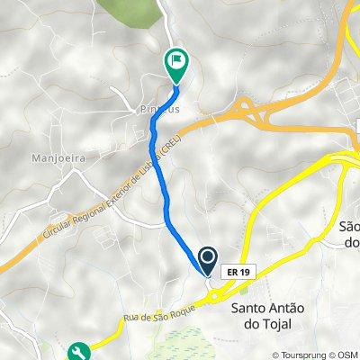 De Estrada de Pinteus 8, Santo Antão do Tojal a Rua Alfredo Caldeira 16, Santo Antão do Tojal