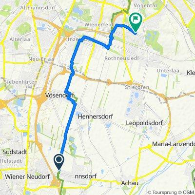 Haidweg 8, Biedermannsdorf nach Kleingarten Frohsinn 463, Wien