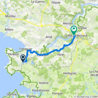 239 Le Foy, Pénestin to 1–3A Quai de la Douane, La Roche-Bernard