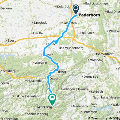 paderborn to winterberg